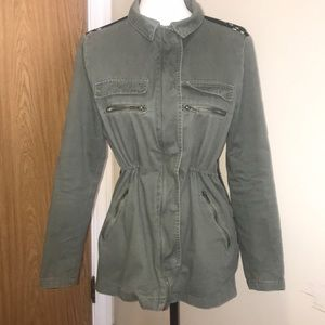 Thread & Supply Green Military Style Jacket